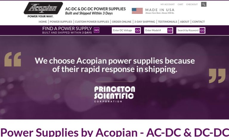 Acopian Technical Company