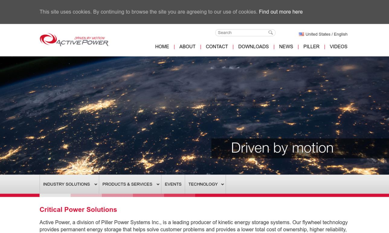 Active Power®, Inc.
