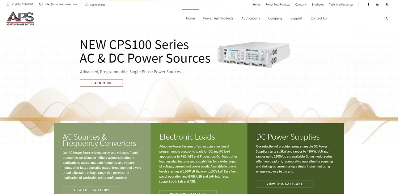 Adaptive Power Systems
