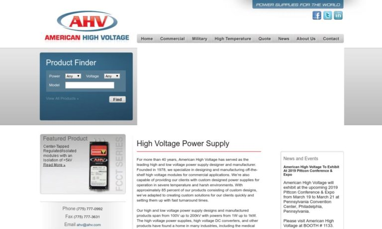 American High Voltage