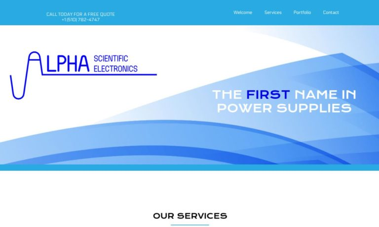 Alpha Scientific Electronics, Inc.