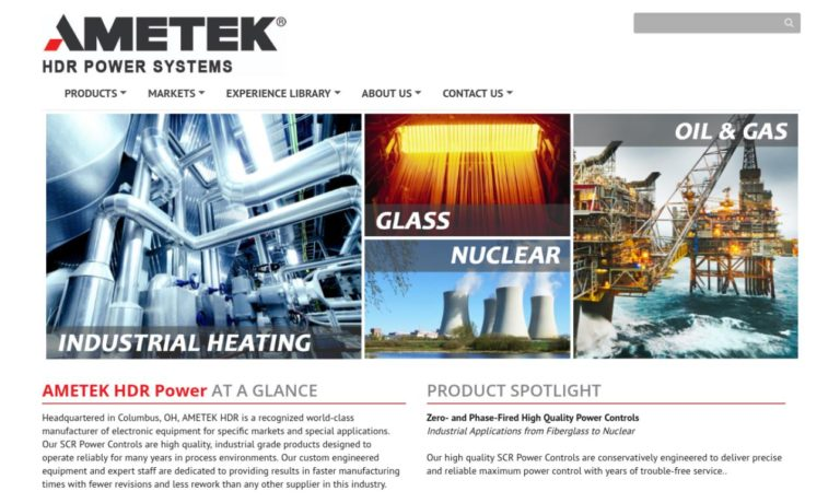 AMETEK® HDR Power Systems